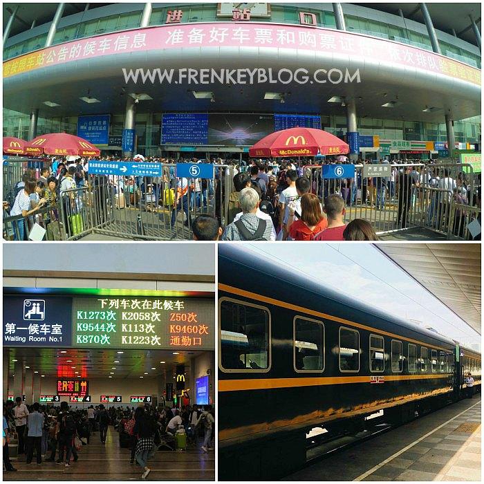 Chengdu North Railway Station - Chengdu ke Xining