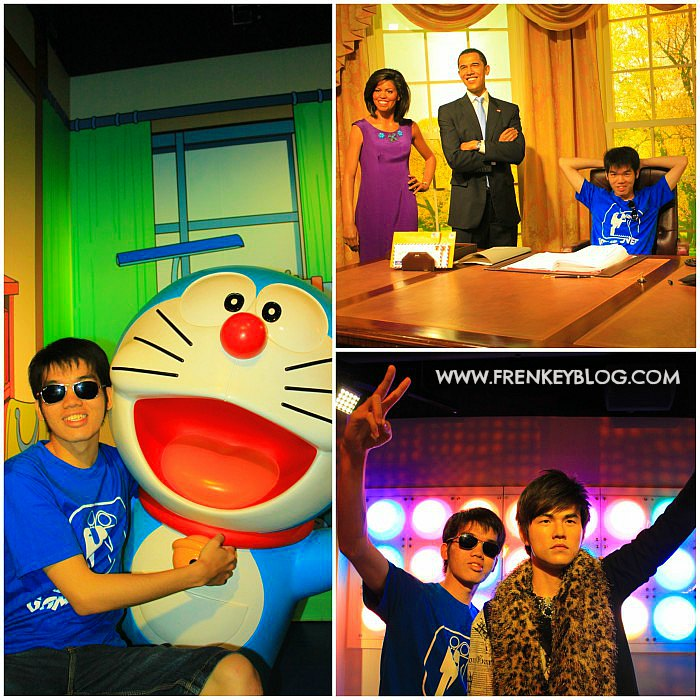 Doraemon, Barrack Obama, Jay Chou -Madame Tussauds