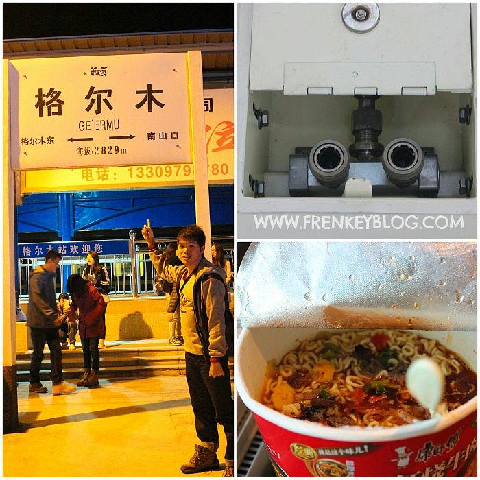 Stasiun Geermu 2.829 mdpl, Oxygen Supply di Kereta, Noodle Cup Nikmat sebagai Makan Malam hari itu