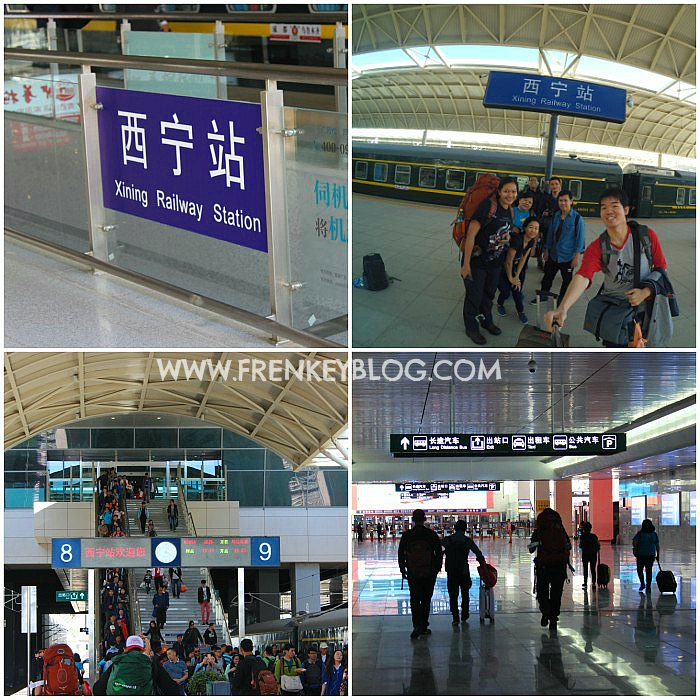 Suasana Xining Station China