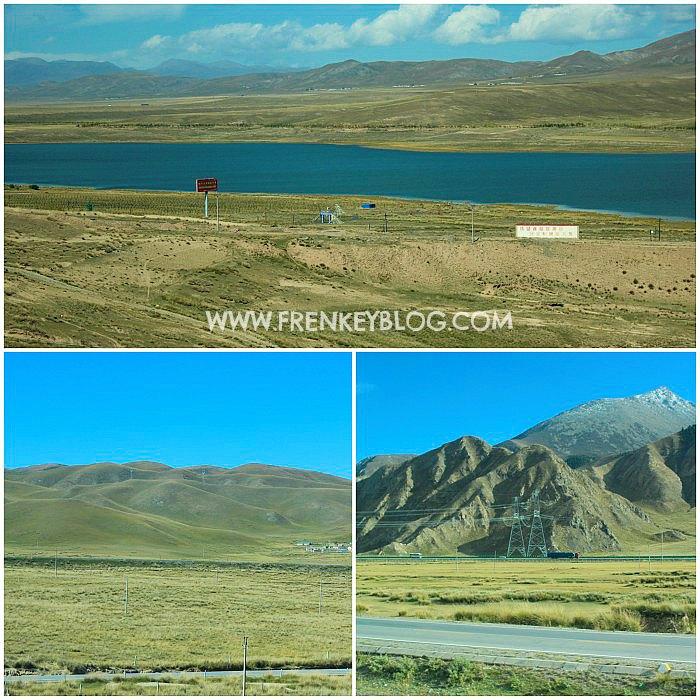 Pemandangan indah dari Xining to Lhasa ( Tibet )