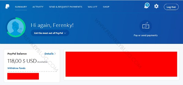 Tekan Tombol Withdraw Funds ( PayPal Withdraw )