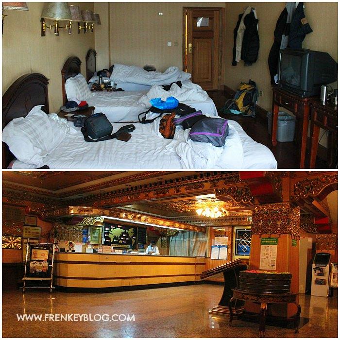 Kamar tipe dorm ( 4 orang ) di Lhasa Yak Hotel - Ruang Resepsionis Lhasa Yak Hotel