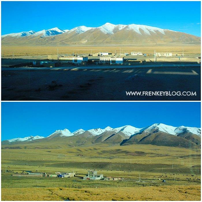 Pemandangan di Jalur Kereta Xining ke Lhasa