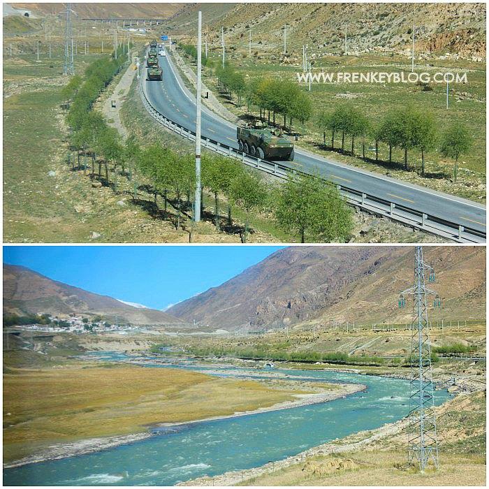 Rombongan Militer ke Lhasa Tibet
