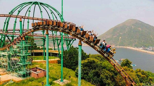 Theme Park - Ocean Park Hong Kong