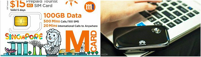 SIM Card Singapore Murah - Pocket Wifi Singapore