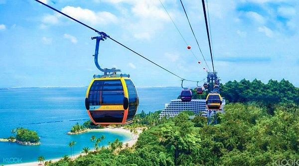 Tiket Murah Cable Car ke Pulau Sentosa