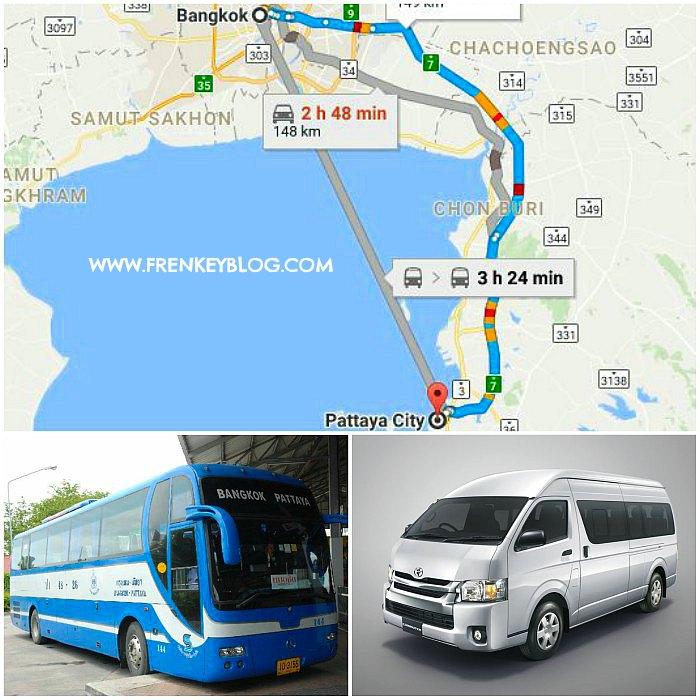 Harga Tiket Bus – Van dan Sewa Mobil Dari Bangkok ke Pattaya