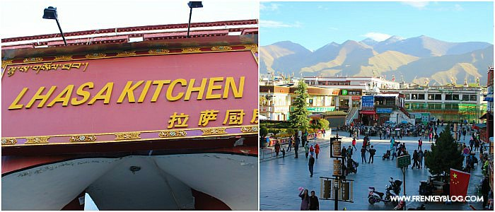 Suasana Sekitar Lhasa Kitchen, Foto di Ambil Jam 18.00, suasana masih sangat terang ya!