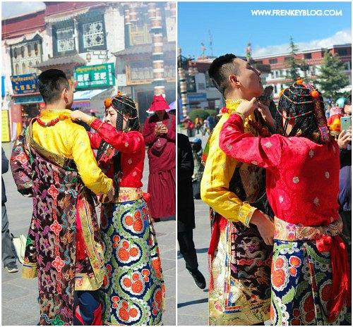 Pasangan Prewedding di Tibet