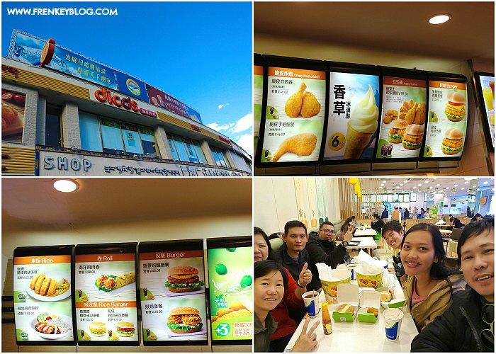 Makan Sore + Malam di Dicos