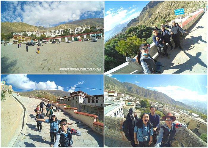 Foto Cantik dan Ganteng dulu di Drepung Monastery Lhasa Tibet