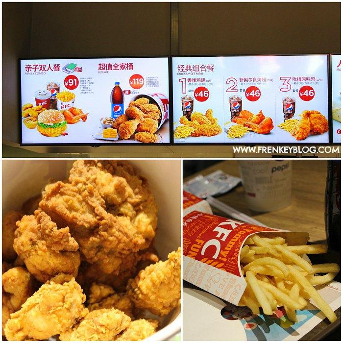 Makan KFC pertama kali nya di Tibet