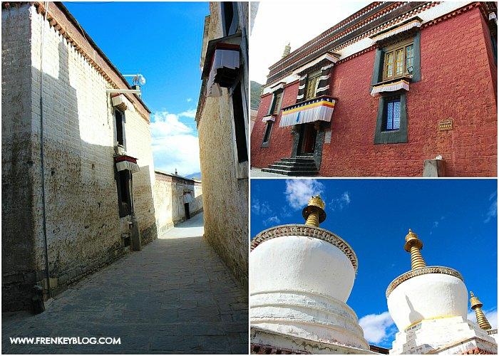 Suasana dan Bangunan di dalam Tashi Lunpo Monastery