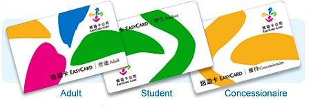 Kartu EasyCard di Taiwan