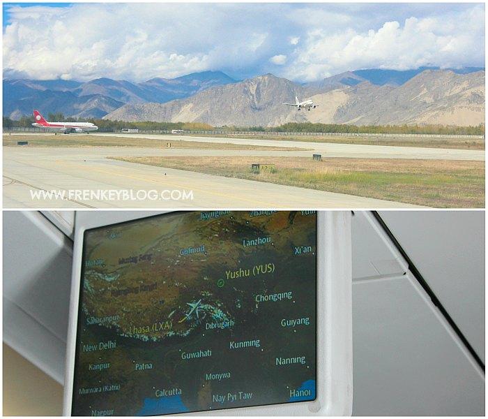 Lhasa ke Chengdu Transit di Yushu