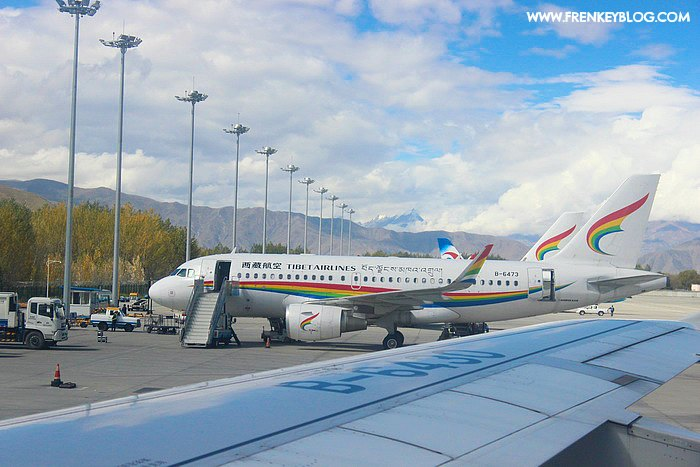 Tibet Airlines at Lhasa Gonggar Airport