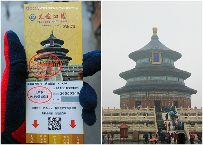 Harga Tiket Temple of Heaven