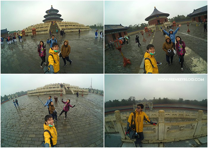 Foto Lucu Bareng-Bareng di Temple of Heaven