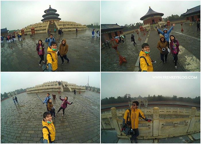 Foto Lucu Bareng-Bareng di Temple of Heaven