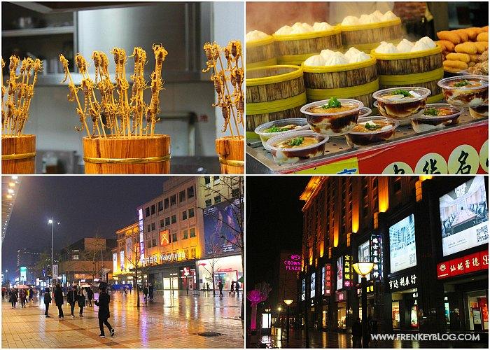 Makanan Extreme dan Toko Fashion Branded di Wangfujing