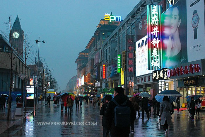Wangfujing Shopping Area - Beijing