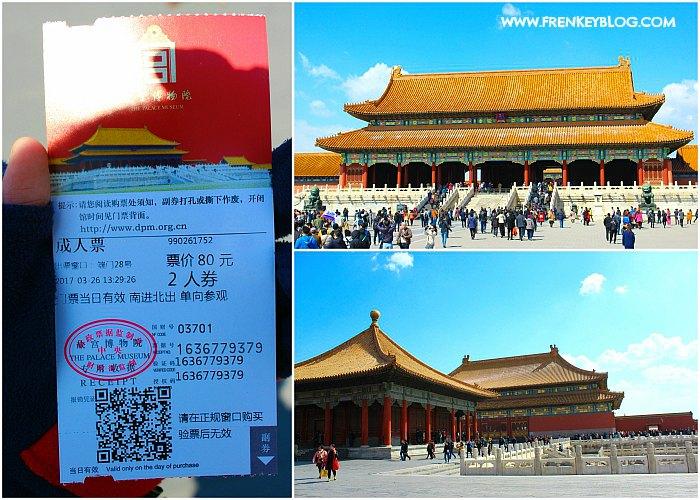 Tiket dan Suasana Forbidden City - Beijing