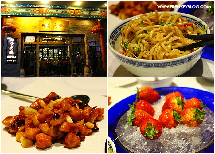 Side Dish - Mie Lada Hitam, Ayam Kungpao, Strawberry Gratisan