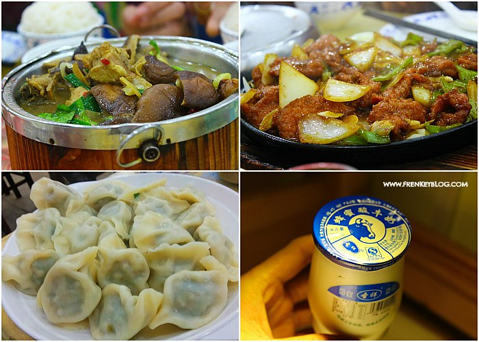 Dinner di Qianmen Street Beijing