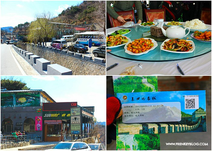 Lunch di Mutianyu Great Wall ( Include dalam Paket Tour )
