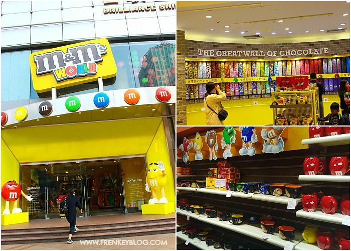 M&M World- Nanjing Road, Shanghai