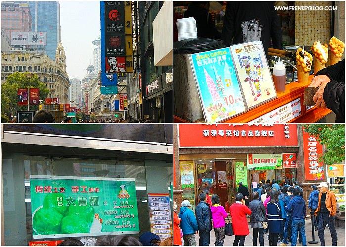 Jajanan Kuliner di Nanjing Road