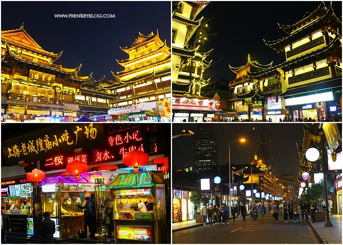 Tempat Kuliner dan Shopping - Yuyuan Garden