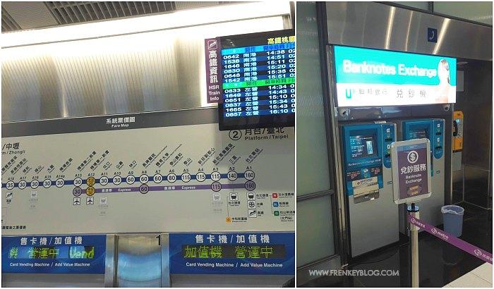 Beli EasyCard di Bandara Taoyuan - Mesin Penukar Uang ke Pecahan Kecil