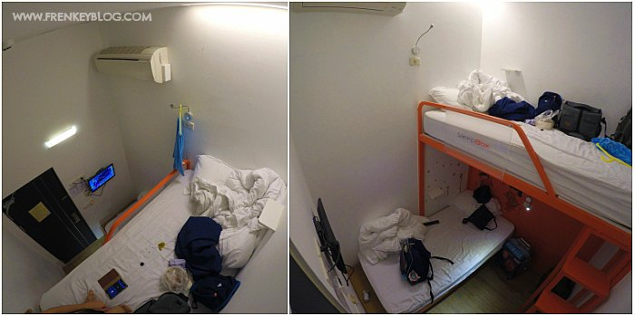 Twin Bed, Sleepbox Hostel - Ximen Taipei