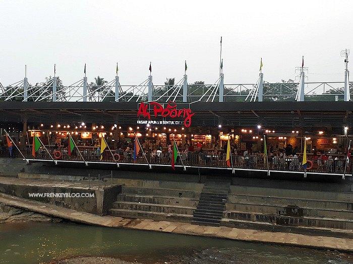 Pasar Ah Poong nya lagi kering kerontang :(