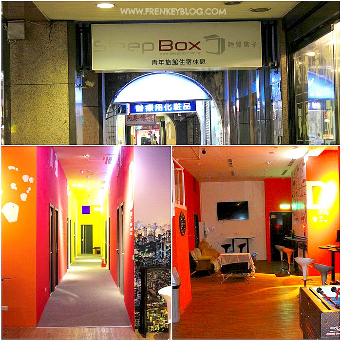 Sleepbox Hostel - Ximen, Taipei