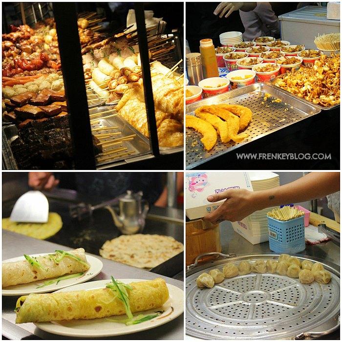 Berbagai Kuliner Taiwan di Pasar Malam Raohe