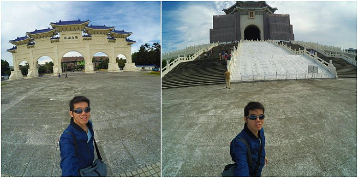 Foto Wajib - Check in di Chiang Kai Shek Memorial Hall