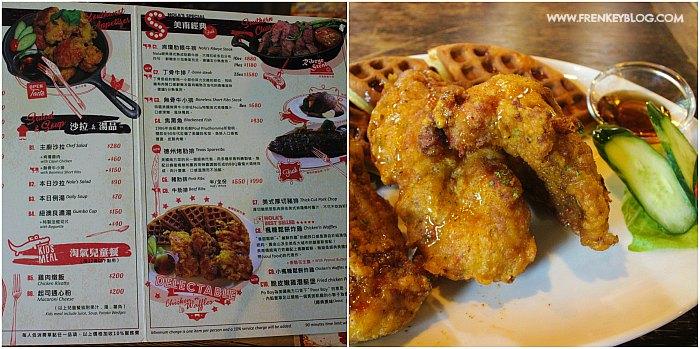 Makan Waffle + Ayam Goreng sebelum mulai Trekking ke Xiangshan Hiking Trail