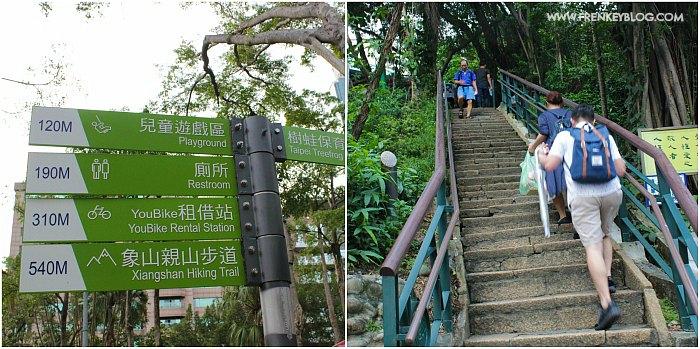 Petunjuk arah ke Xiangshan Hiking Trail - Jalur Trekking nya