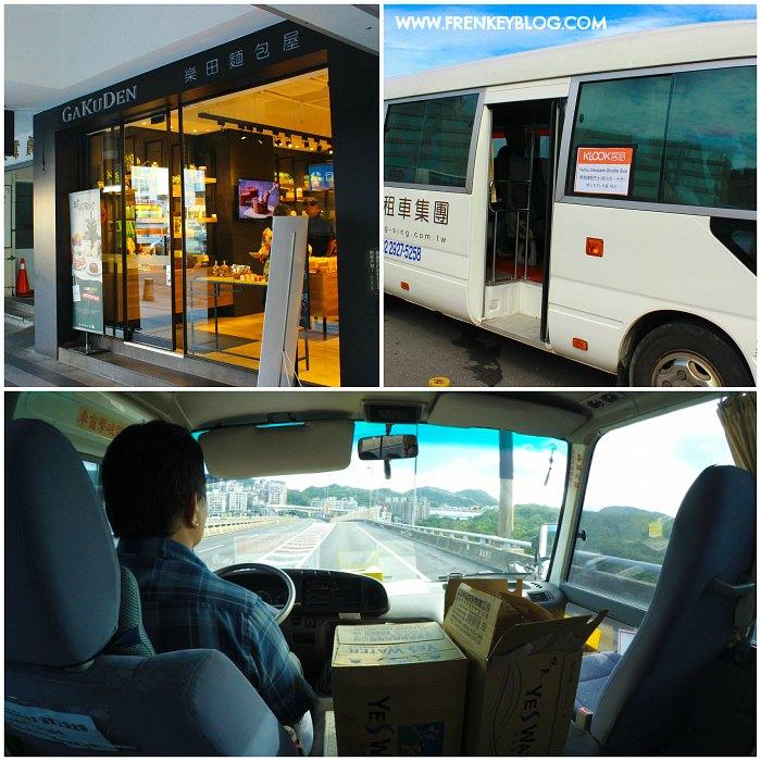 Meeting Point Gakuden Bakery ( Ximen Station Exit 4 ), Mobil Tour yang di gunakan