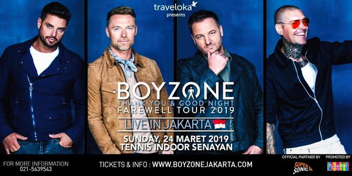 Konser Boyzone Jakarta 2019