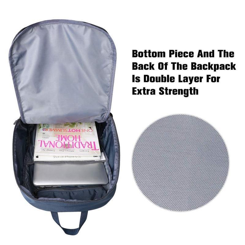 Tas Backpack Bahan Kuat karena Double Layer