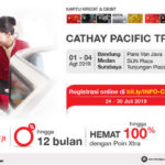 Cathay Pacific Travel Fair 2019, Berburu Tiket Pesawat Murah Yuk!