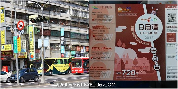 Taichung Gancheng Station - Tiket Combo Nantou Bus dan Sun Moon Lake