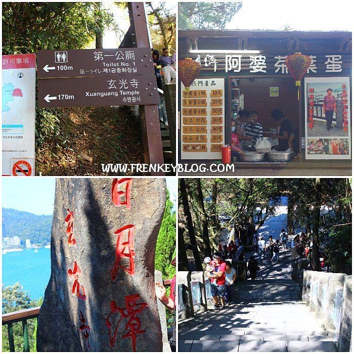 Petunjuk Arah Xuanguang Temple, Toko Makanan Yang Ramai, Batu Besar Objek Foto Pengunjung