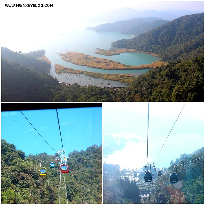 View Sun Moon Lake dan Cable Car