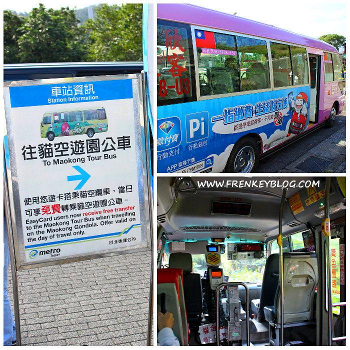 Petunjuk Antrian Maokong Tour Bus